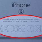iPhone'ların arkasındaki sayılar ve semboller ne anlama geliyor?