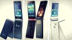 Samsung'un kapaklı akıllı telefonu satışa çıktı