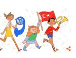 Google 23 Nisan'a özel ana sayfa hazırladı