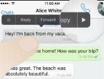 WhatsApp'ta gönderilen mesajlar karşı taraf görmeden nasıl silinir?