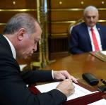 Cumhurbaşkanı Erdoğan 6 üniversiteye rektör atadı