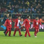 Trabzonspor'da Pereira depremi
