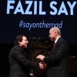 Fazıl Say, Erdoğan'ın katıldığı konser sonrası ilk kez konuştu