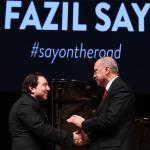 Cumhurbaşkanı Erdoğan: Fazıl Say'dan 29 Ekim için beste yapmasını istedim