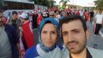 Cumhurbaşkanı Erdoğan'ın kızı Sümeyye Bayraktar'dan 15 Temmuz fotoğrafı