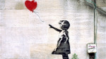İngiltere'nin en sevilen resmi: Balloon Girl