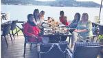 Amine Gülşe, müstakbel kayınvalidesi ve görümcesini İstanbul'da ağırladı