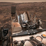 NASA'nın keşif aracından öz çekim!