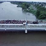 5 maddede Meksika ile Guetamala arasındaki köprüde neler oluyor?