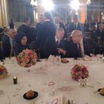 Cumhurbaşkanı Erdoğan ile Trump akşam yemeğinde bir araya geldi