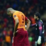Galatasaray'a evinde soğuk duş