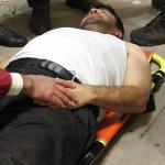Kayseri'de taraftar kalp krizi geçirdi