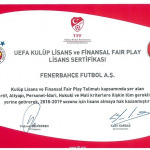 Fenerbahçe UEFA Lisansı aldı
