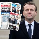 Fransa basını Macron'u arıyor