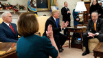 Oval Ofiste tartışma: Trump'tan hükümeti kapatma tehditi