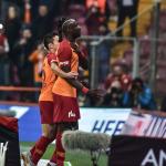 Diagne'nin gol sevincindeki detay
