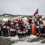 Bayrakları asın: Antarktika'da geçici bilim üssümüz kuruldu