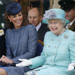 Kraliçe Elizabeth, Kate Middleton'un üşümesine izin vermedi