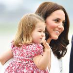 İngiliz Kraliyeti Prenses Charlotte'ın 4. yaş gününü kutluyor