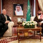 Pompeo İran'a karşı koalisyonu görüşmek üzere Suudi Arabistan'da
