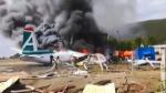 Rusya'da yolcu uçağı pistten çıktı: 2 pilot öldü, 22 kişi yaralandı