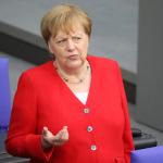 'Merkel hasta mı?' sorusunu şansölye kendi cevapladı