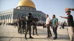 Bayram sabahı İsrail'den Mescid-i Aksa'ya müdahale