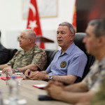 Milli Savunma Bakanı Akar ve komutanlar Şanlıurfa'da