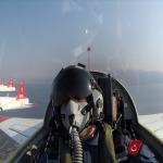 Bakan Akar Ege semalarında: T-38 jet ile uçuş eğitim yılını açtı