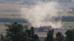 Bölgeden ilk görüntüler geldi: YPG/PKK'ya ait mühimmat depoları vuruldu