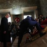 Büyük Önder Atatürk'ü saygıyla anıyoruz: Devlet erkanı Anıtkabir'i ziyaret etti