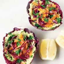 Avokadolu Salata