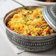 Safranlı Yasemin Pirinçli Davet Pilavı