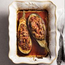Reyhanlı Köfteli Patlıcan Dolması