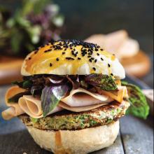 Mücver ve Hindi Füme Burger