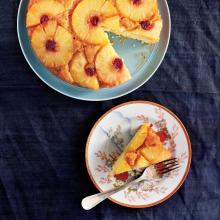 Ananaslı Ters Yüz Keki