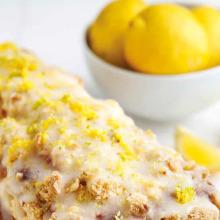 Limonlu Glazürlü Kek