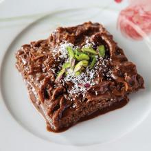 Kahveli ve Çikolatalı Güllaç