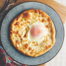 Yumurtalı Pide