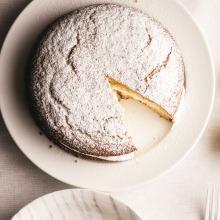 Limonlu Kremalı Pasta