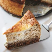Pekmez ve Tahinli Cheesecake