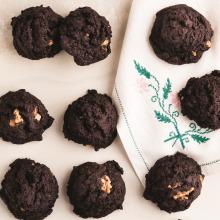 Cevizli Brownie Kurabiye