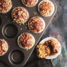 Pancarlı Armutlu Muffin