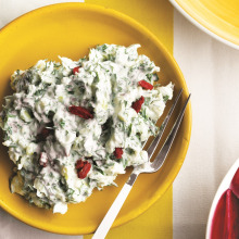 Gojiberryli Ot Salatası