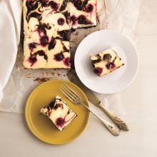 Vişneli Brownie Cheesecake