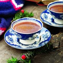 Tarçın ve Karabiberli Sıcak Çikolata
