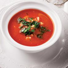 Domatesli Pirinç Çorbası