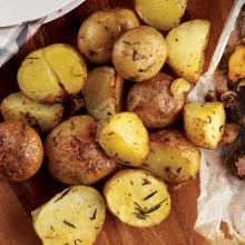 Fırında Biberiyeli Patates