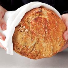 Yoğurmadan Döküm Tencerede Ekmek