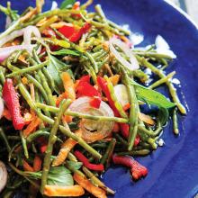 Sebzeli Deniz Börülcesi Salatası